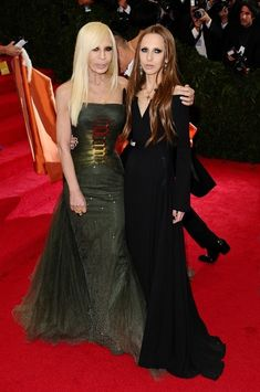 Donatella Versace & Allegra Versace