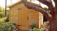 Ξύλινες Αποθήκες - Ξυλοκατασκευή Wooden House, Plants, Plant, Planets