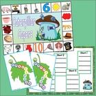 Reinforce the short vowel sounds with this game for 2 or more players. Players travel around the game board and after landing on a picture they mus...