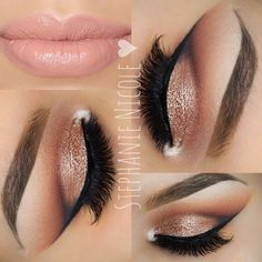 This style is specially designed for ladies who lust after a full and voluminous look. Steal the show with this absolutely irresistible pair of mink lashes. #goldcutcrease