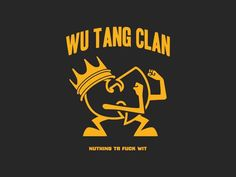 Wu-Tang Clan - Old Dirty Dermot Vector Design & Illustration Arte Hip Hop, Hip Hop Art, Cool Cartoon Drawings, Wu Tang Clan Logo, Vector Design, Logo Design, 2d Design, Banners, Graffiti Piece