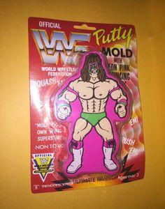 Ultimate Warrior Putty Mold! #wwe #wwf #wrestling #prowrestling #ultimatewarrior
