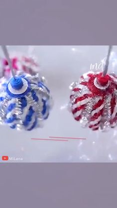 Prettier than most store-bought ornaments! Homemade Christmas Crafts, Christmas Crafts For Kids, Diy Christmas Gifts, Christmas Projects, Holiday Crafts, Foam Christmas Ornaments, Printable Christmas Cards, Decorations, Diy Christmas Ornaments