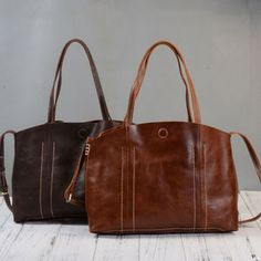 Soft Leather Shopping Tote Bag Gifts For Woman - new in fashion