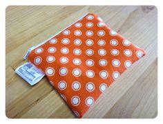 50% OFF 4x5 Waterproof Zippered Snack Bag via Etsy