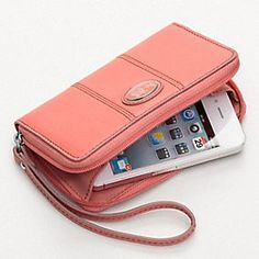 Coach iPhone case/wallet.