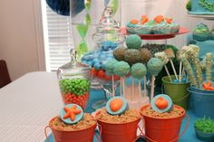 Felien Torres Lyn - #Decor'NDessertDiva #Octonauts Dessert table