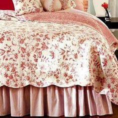 Love The Red Toile And Stripes Bedding | Bedroom Decor | Pinterest | Toile,  Bedrooms And Master Bedroom