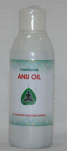 Anu Oil – The miracle oil Instilling one drop on Anu oil in each nostril can make wonders. It is explained as a daily regimen to maintain health of nasal passage. It strengthens the sense organs, relieves headache, hemi crania, trigeminal neuralgia, tinnitus, cervical spondylitis, facial palsy, dementia, Parkinson's, hair fall, premature greying of hairs, sinusitis, rhinitis and respiratory allergies.