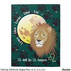 Löwe 23. Juli bis 22. August Puzzle
