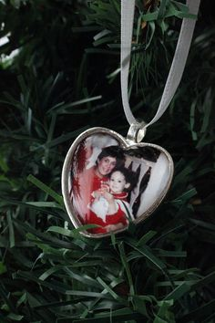 Custom Photo Ornament  Personalized Christmas Tree by jerseymaids, $40.00