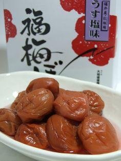 梅干  福井県の名物産です  Umeboshi (Pickled Plums)