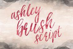 Printable Wisdom Brush Calligraphy font Brush von PrintableWisdom