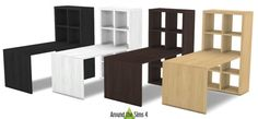 IKEA like Expedit/Kallax Furniture at Around the Sims 4