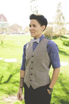 Soft Butch Sexiness.