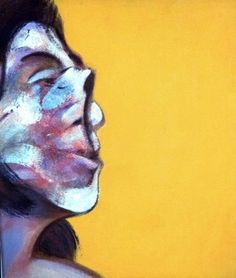 "Francis Bacon, ""Portrait of Henrietta Moraes"" (1969)."