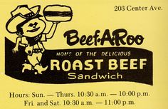 A Rockford thing that came to Janesville Wisconsin. This ad is from 1975.