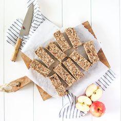 Lunchbox Apple Oat Bars (nut free)