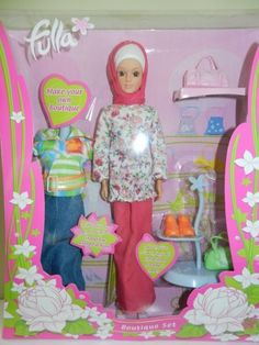 fulla doll Fulla's sale in 2003 coincided with the warning of the saudi arabian committee for the propagation of virtue and prevention of vice that jewish barbie dolls, with their revealing clothes and shameful postures, accessories and tools are a symbol of decadence to the perverted west.