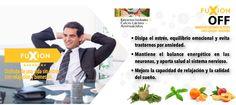 OFF Disipa el estrés, mejora la capacidad de relajación y la calidad del sueño.  Pedidos e información para emprender tu negocio Fuxion: (593)0994197973 http://marthazj81.soyfuxion.net/