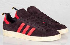 adidas Originals Campus 80s | Burgundy & Red
