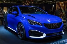 Peugeot 308R Hybrid concept version has a combined power output of 493hp