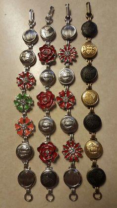 Band button bracelets