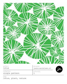 surface pattern design by jessica nielsen / tags: lotus, plant, nature