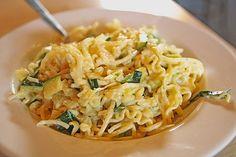 Die berühmten Zucchini-Frischkäse-Nudeln, ein sehr leckeres Rezept aus der Kategorie Gemüse. Bewertungen: 45.…