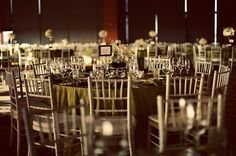 silver green reception table chivari chairs