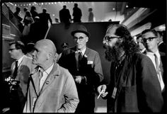 William S. #Burroughs, Jean #Genet and Allen #Ginsberg - Jill Krementz