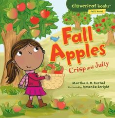 """Read """"Fall Apples Crisp and Juicy"""" by Martha E. Rustad available from Rakuten Kobo. Let's go to the apple orchard! Find out how apples grow. See the many things we do with apples. Taste some cider and app. Preschool Apple Theme, Apple Activities, Preschool Books, Autumn Activities, Preschool Crafts, Preschool Activities, Kid Crafts, Preschool Apples, Preschool Curriculum"""