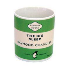 Raymond Chandler's The Big Sleep mug by Penguin Books