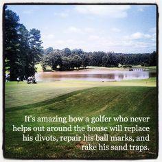 Golf etiquette is far from a chore...