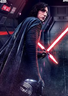 Kylo Ren in the Last Jedi