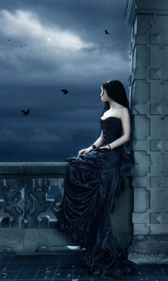 Top Gothic Fashion Tips To Keep You In Style. Consistently using good gothic fashion sense can help Dark Fantasy Art, Dark Gothic Art, Goth Beauty, Dark Beauty, Lauren Kate, Gothic Pictures, Beautiful Dark Art, Dark Princess, Arte Obscura