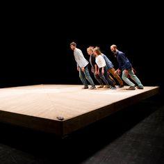 """Celui qui tombe"" Cie Yoann Bourgeois 16ème biennale danse Opéra de Lyon sept. 2014 Lyon, Yoann Bourgeois, Theater, Group Dance, Best Dance, Scenic Design, Dance Pictures, Dance Art, Work Inspiration"