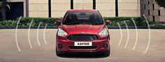 Perimeter Alarm in #Ford #Aspire  Aspire's perimeter alarm provides peace of mind while the car is parked. If the system detects an unauthorised attempt to enter the car, it triggers the alarm, flashes the headlamps and parking lamps, and activates the theft indicator on the instrument panel.