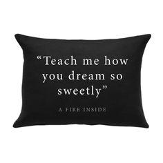 Dream Pillowcase (afi merch) (i like this)