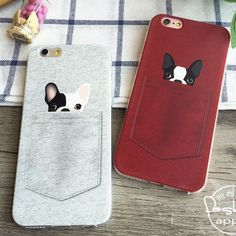 Find More Phone Bags & Cases Information about Cute French bulldog Pocket Cartoon Animals Soft Phone Case For iPhone 6Plus 6 6S 5 5S SE 5C 4 4S Samsung Galaxy ,High Quality phone cases for lg cookie,China case moving Suppliers, Cheap phone cases for iphone 3g from World Design Phone Accessories on Aliexpress.com