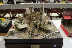 First post with images from the Moson Show in Mosonmagyaróvár, Hungary. A lot of the images unfortinarlly came out blurry so I will only post the good ones. But lets start with the diorama and vign…