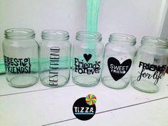 vinilos para frascos vasos - Buscar con Google