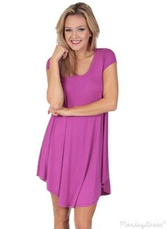 Pretty Wings Tunic in Orchid | Monday Dress Boutique