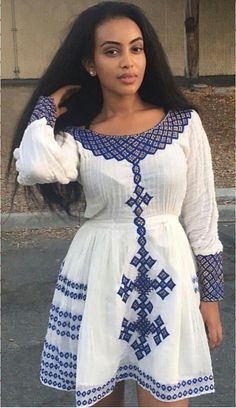 African clothing that looks stunning. African Fashion Designers, African Men Fashion, Africa Fashion, African Dresses For Women, African Attire, African Wear, African Style, Ethiopian Beauty, Ethiopian Dress