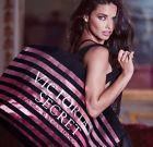 Victoria's Secret Limited Edition Cyber Monday Tote Bag 2016 Stripe Pink Black