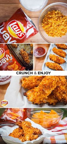 Kick off the summer with a deliciously different appetizer that's perfect for all your parties. This super-easy and fast recipe uses crushed LAY'S wavy hickory BBQ potato chips as a breading. The chips not only have their own seasoning but also have a little extra crunch because of the wavy cut. They'll be a hit with your friends and family!