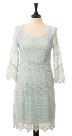 elle-belle.de Dress Marida - Soft Blue von Cream - Kleider skandinavische mode online kaufen