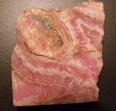Rhodochrosite slab  /  Gallery - IrenaDesigns.com - Fine Quality Artisan Jewelry