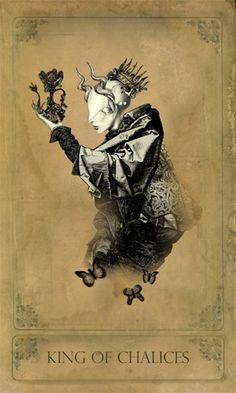 The Sepia Stains Tarot – A Fantasical Tarot Deck » The Minor Arcana