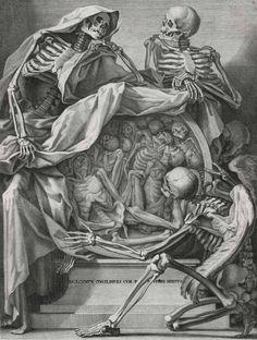 Genga,B.   Anatomia per uso et intelligenza del disegno ricerata non solo su gl'ossi, e muscoli des corpo humano ... Rom, Rossi Erben 1691.